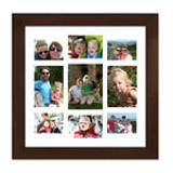 Framed Collage Print (20x20_V white)