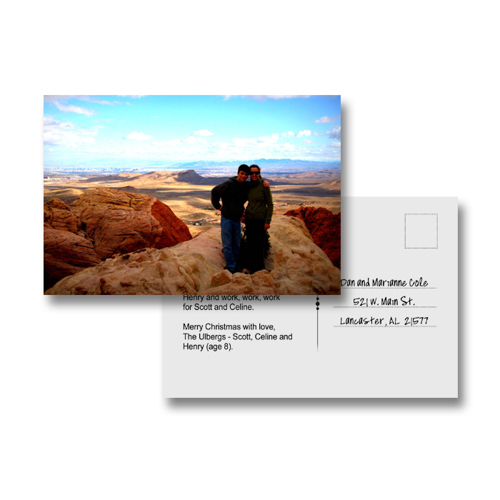 4x6 Photo Postcard