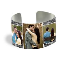 Cuff Bracelet (PG-185H) White Gloss
