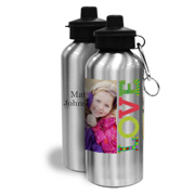 20oz Stainless Steel Water Bottle