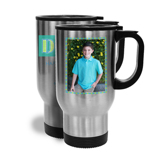 14oz Travel Mug Father's Day w/ vertical image