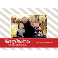 J2 Holiday Card Single Card