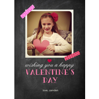 Cheerful Chalkboard: 10pk Valentine Cards