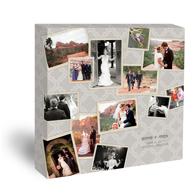 20x20 Designer Collage Canvas - Grey (01-24x24 )
