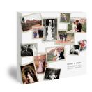 24x24 Designer Collage Canvas - White  (03-24x24)