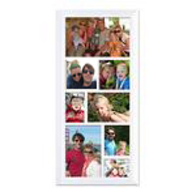 Framed Collage Print (15x6_V white) - Store Name | Gift Specifications