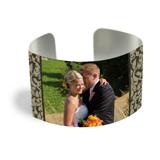 Cuff Bracelet (PG-185K) White Gloss