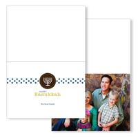 Menorah Motif: 10PK Hanukkah Cards
