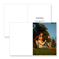 5 x 7 Folded Card - 045