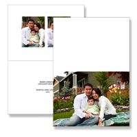 5 x 7 Folded Card - 046