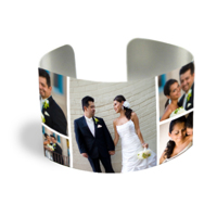 Cuff Bracelet (PG-185L) White Gloss