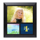 Framed Collage Print (6x6.5_H Dad Black)