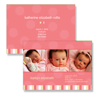 261 - 5x7 2 Sided Set of 25 Cards