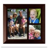 Framed Collage Print (6x6.5_V walnut)