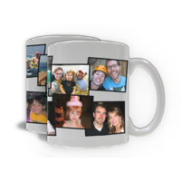 Photo Mug Collage - 10 Photos
