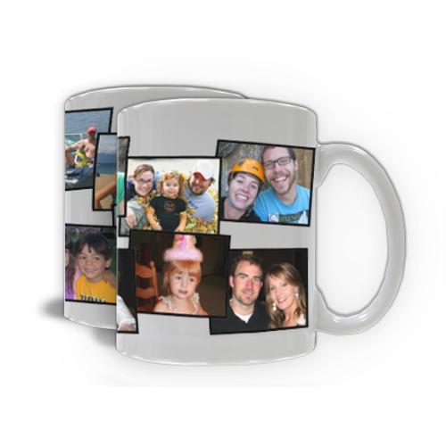 Photo Mug Collage - 10 Photos