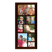 Framed 15x6 Collage Print (Black, White or Walnut)