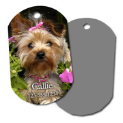 Plastic Dog Tag (PG-122)