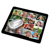 Mouse Pad (16 Image Collage)