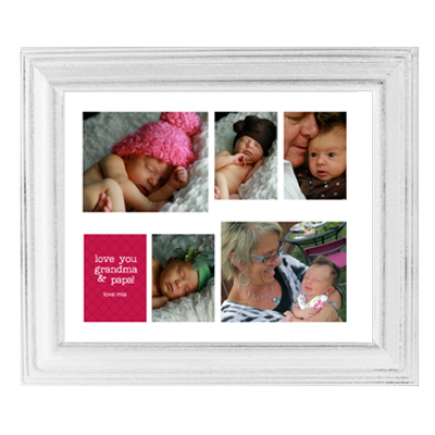 Framed Collage Print (16x20VAL_H white)
