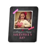 8x10 Valentine Chalkboard Metal Print
