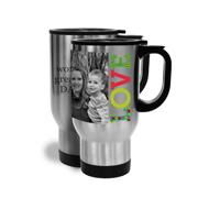 14oz Travel Mug Stainless Steel