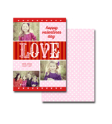 2-sided Valentine Card (13-033-5x7) (duplicate)