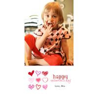 4x8 Slimline Card (209) Valentine