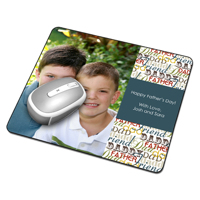 Father's Day Mouse Pad Single Image & text.  (PG-107K_V)