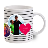 Valentine's Day Photo Mug