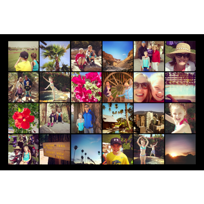 10x15 Collage Poster (Black)