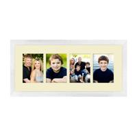 Framed Collage Print (24x9_H white)