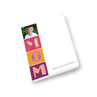 4x5 Note Pad 80 Sheets Mom PG-212G