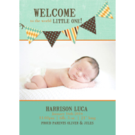 Birth Announcement (13-083-5x7)