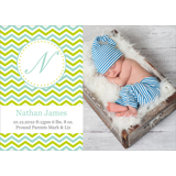 Birth Announcement 7x5