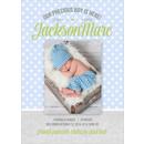 Birth Announcement (13-085-5x7)