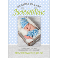 Birth Announcement (13-085-5x7)
