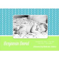 Birth Announcement (13-087) Single Card