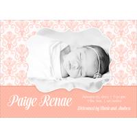Birth Announcement (13-088) Single Card