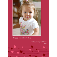 5x7 1-Sided Card (391) Valentine