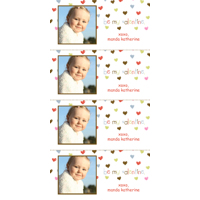 408 - Be My Valentine Valentine's Day Mini Cards
