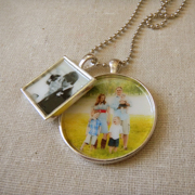 Necklace (2 Charms-antique silver)