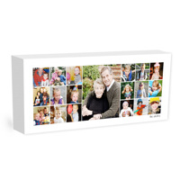 16x40 Collage Canvas Wrap