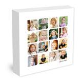 20x20 Tear Drop Canvas Collage