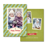 2-sided Holiday Card (14-028_5x7)