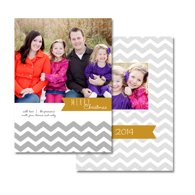 2-sided Holiday Card (14-029_5x7)