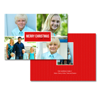 2-sided Holiday Card (14-031_5x7)