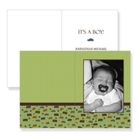 208 - 5x7  Folded Set of 25 Cards