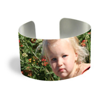 Cuff Bracelet (PG-185A) White Gloss