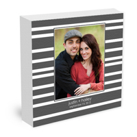 Premium 12x12 Canvas Wrap - Grey (V)